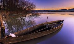 Pateira de Fermentelos (paulosilva3) Tags: world mist sunrise landscape lee filters waterscape polariser lakescape riverscape