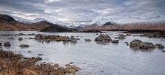 Cold. (stonefaction) Tags: winter snow ice scotland frozen highlands glencoe nah moor lochan rannoch a82 achlaise