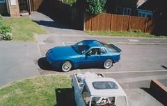 Porsche 944 S2 (Mine) (ukdaykev) Tags: uk blue car austin classiccar turquoise mini porsche morris coupe 944 s2 bl porsche944 minipickup 944s2 porsche944s2 popupheadlamps h887pof etabetakrone