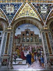 Libreria Piccolomini (serie) (fotomie2009) Tags: siena toscana tuscany italy italia duomo libreria piccolomini cattedrale cathedral pinturicchio affresco fresque art