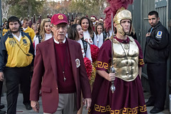 Scenes From USC v UCLA: Here Comes The Band (Steve Mitchell Gallery) Tags: street sports football cheerleaders band mascot ucla usc bruins rosebowl ncaa trojans collegefootball universityofcaliforniaatlosangeles univeristyofsoutherncalifornia songgirls arthurcbartner