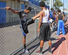 D113095A (RobHelfman) Tags: sports losangeles track highschool practice crenshaw