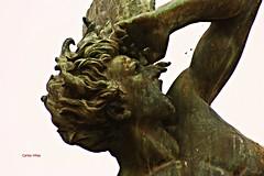 El ngel Cado de El Retiro. Madrid (Carlos Vias-Valle) Tags: madrid escultura retiro bellver angelcaido
