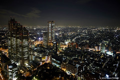 Tokyo Night Cityscape 1 (autoidiodyssey) Tags: city japan night lights tokyo shinjuku tokyometropolitangovernmentbuilding