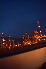 DSC_4840 (jjldickinson) Tags: light sky cloud harbor dusk driveby longbeach oil petroleum gloaming portoflongbeach fossilfuels petrochemicals polb nikond3300 ca103 promaster52mmdigitalhdprotectionfilter 101d3300 nikon1855mmf3556gvriiafsdxnikkor
