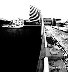 DSC00137 (tmv_media) Tags: trip bw black landscape landscapes blackwhite sony fisheye scandinavia 8mm tromso troms troms scandanavia samyang slta77v