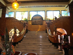 Marble Staircase Gadson Hotel (Dry Heat2009) Tags: hotel az villa douglas poncho gadson