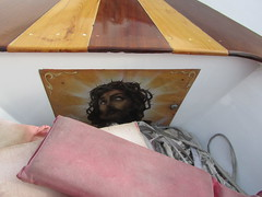 In a boat (sylphxr ms) Tags: jesus malta yeshua bluegrotto