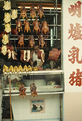 SAIGON 1965 - Photo by Wilbur E. Garrett (manhhai) Tags: city people food color men animal vertical dead outdoors photography three day vietnamese adult image chinese vietnam chi ho script stores minh saigon mid ethnicity butchers butchering