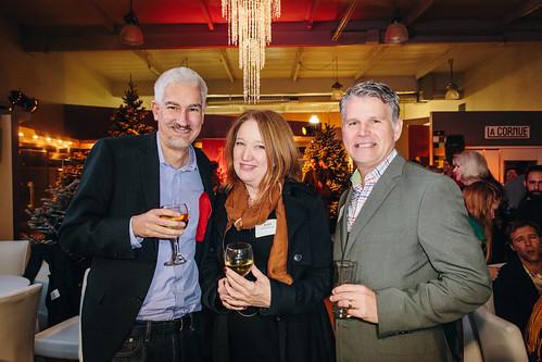 Andrew Tullis, Patti Poundstone, Norm Nebroski
