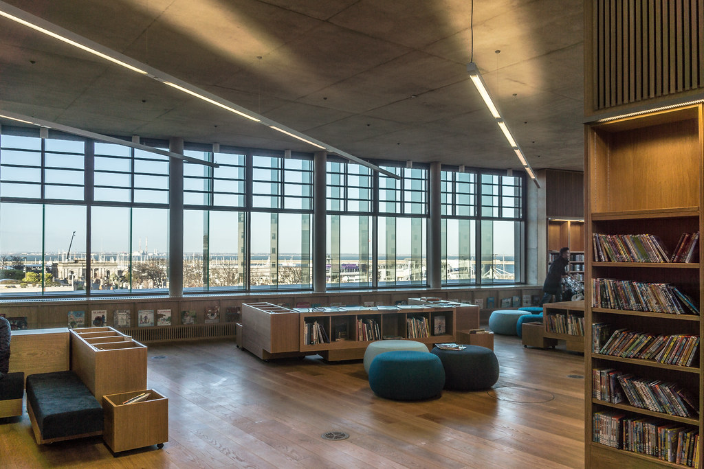 New Public Library In Dun Laoghaire, Officially Called DLR Lexicon Opened To The Public Today And It Is Worth Visiting Ref-100529