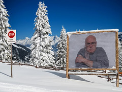 On The Mountain (Leo Reynolds) Tags: webthing photofunia xleol30x xxx2015xxx
