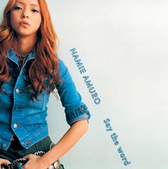 2001.08.08_Say-the-word-CD_cover_02 (Namie Amuro Live ♫) Tags: namie amuro cover singlecover 安室奈美恵 saytheword