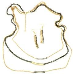 5th Avenue Gold Necklace P2011A-1