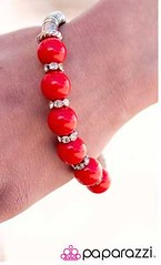 Sunset Sightings Red Bracelet K2 P9712-3