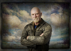 RT7448_pp sm  USE THIS ONE (RT Hicks) Tags: man leather clouds texas amarillo baldmen leatherjacket meninleather rthicks rthicksphotography amarillocommercialphotography