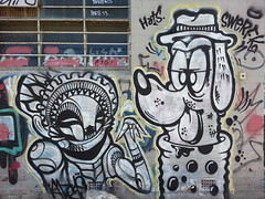 Abyss.607 & Swerfk... (colourourcity) Tags: art graffiti melbourne abyss oldne