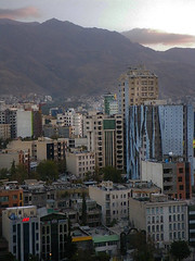 High Rise Buildings (Kombizz) Tags: building architecture cityscape iran tehran 2014 1393 highrisebuildings 5045 alborzmountain chamranhighway kombizz