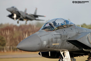 RAF Lakenheath F15E Strike Eagles