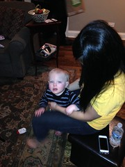 """Aunt Emily with Paul on Christmas Eve • <a style=""""font-size:0.8em;"""" href=""""http://www.flickr.com/photos/109120354@N07/16117605011/"""" target=""""_blank"""">View on Flickr</a>"""