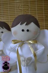 Anjinhos 35cm (ovelhanegra_toys) Tags: party angel handmade decoration batizado felt baptism angels newborn feltro anjos manualidades anjinhos fieltro feltcraft feitoamo ovelhanegratoys