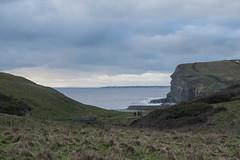 Ogmore by Sea (anyamoffatt) Tags: ocean sea blackandwhite bw castle beautiful wales coast ogmore bridgend ogmorebythesea
