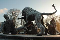 Matthew Montgomery Ray Harryhausen Sculpture David Livingstone Park Blantyre (James B Brown) Tags: david livingstone lanarkshire davidlivingstone blantyre davidlivingstonepark shuttlerow blantyreworksvillage davidlivingstonebridge davylivvy