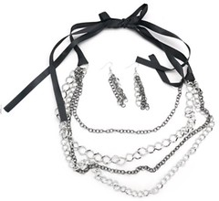 5th Avenue Silver Necklace P2240A-3