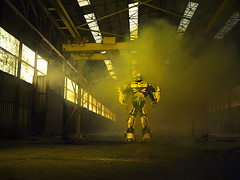 TRANSFORMERS-light-11 (jolipunk.com) Tags: pictures costumes 2 film yellow plane giant movie real fun photography prime boat photo big funny shoot comic photographie geek transformer photos cosplay kodak pics smoke cm carwash size robots hasselblad age transformers hero superhero optimus 500 comiccon portra con extinction masterpiece argentique autobots sdcc decepticons 2014 2015 bumbelbee cybertron jolipunk  jolipunkcom jolipunkfr