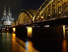 Cologne by Night 2 (GillWilson) Tags: germany cologne rhine colognecathedral hohenzollernbridge