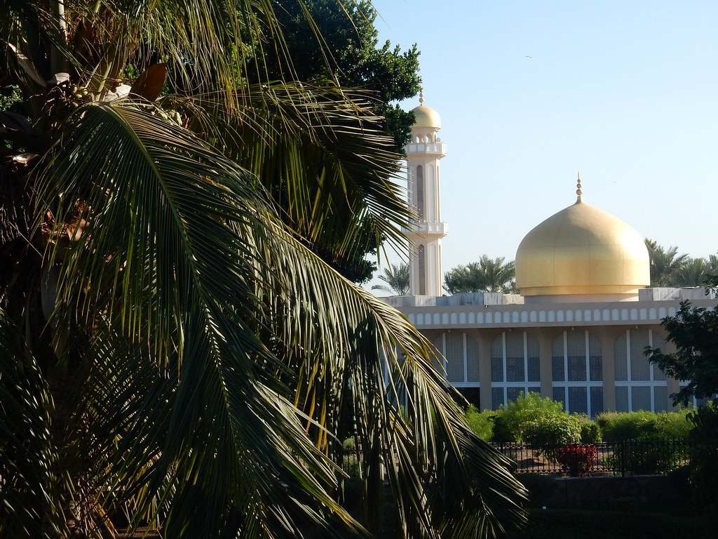 A mosque in Suhar
