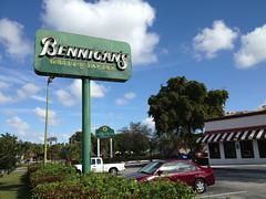 Bennigans Miami 2012 (Phillip Pessar) Tags: restaurant airport miami bennigans demolished 2012
