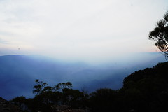 smoke haze landscape (christinemargaretlynch) Tags: haze smoke bluemountains falls wentworth burnoff