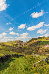 We'll Keep A Welcome 2 (Steve Purnell Photography) Tags: trees sky wales clouds village unitedkingdom mining valleys caerphilly deri bargoed welshvalleys miningvillage welshlandscapes welshminingvillage collierysites