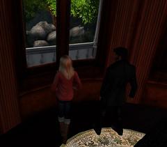 The ominous stones (Teddi Beres) Tags: life window mystery danger rocks stones ominous sl story blonde second murder bluff suspense investigator blacklichen