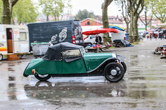 Morgan F-Type (xwattez) Tags: old france car automobile tricycle voiture british transports morgan 1949 ancienne 2016 vhicule anglaise pamiers ftype boursedchange