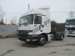 MB Actros SZM (Vehicle Tim) Tags: truck mercedes mb fahrzeug lkw actros szm sattelzugmaschine