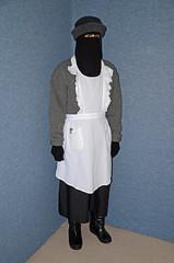Slave Waitress (Buses,Trains and Fetish) Tags: hot girl warm coat hijab torture sweat waitress niqab maid anorak slave snowsuit burka chador
