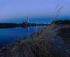 (HolmisticWalker) Tags: sea night bokeh may bluehour eos6d samyang35mm