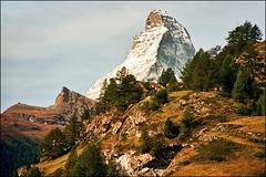 Matterhorn (Katarina 2353) Tags: autumn mountain alps film landscape switzerland nikon swiss zermatt matterhorn katarinastefanovic katarina2353
