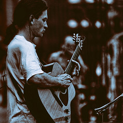the guitar man (j.p.yef) Tags: bw monochrome germany hamburg young streetlife sw streetmusic guitarman yef peterfey bestportraitsaoi jpyef