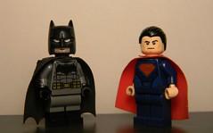 Batman v. Superman (Strike U) Tags: movie dawn justice dc lego superman v batman custom