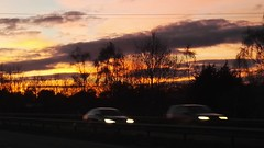 Sunset on the A30 a few weeks ago.. (Evergreen2005) Tags: sunset devon a30 blogsinflickr