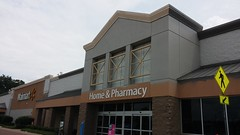 Beginning Stages of a Black Dcor 2.0 Remodel (Retail Retell) Tags: oxford ms walmart supercenter remodel black decor 20 new exterior paint colors treatment lafayette county retail gray blue