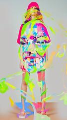 9 (Borisponomarev) Tags: art painting fluo illustration neon fluorescent glow paint coloroflight light existence bright lux design instalation lightpainting show artist ponomarev boris ponomarevboris borisponomarev художник бориспономарев пономарев светящиеся краски неон ультрафиолет уф performance exhibition