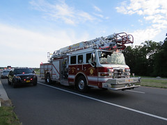 MVC roll-over Ocean Gateway in Hebron (LeafsHockeyFan) Tags: ford explorer police msp maryland ambulance firetruck policecar ems firedept rollover hebron statetrooper statepolice 2016 mvc hfd fireapparatus policeinterceptor marylandstatepolice wicomicocounty vehicleaccident the5house hebronfiredept