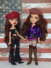Roxxi and Phoebe (Bubblegum18) Tags: bratz twin roxxi phoebe mga