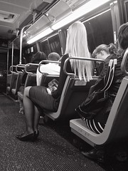 194 / 366 (lufegu) Tags: bus lifestyles person publictransportation seat sitting streetphotography streetscenes transportation travel vehicleseat woman blackandwhite blackwhite