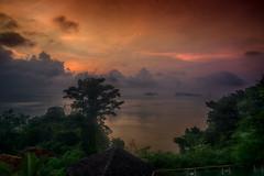 Crimson sunrise (Wajahat Mahmood) Tags: sunrise dawn thailand phangngabay kohyao asia southeastasia landscape seascape ocean hdr nikond810 googlenik cloudy clouds day morning sky