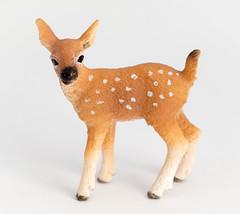 Deer (Mathias L.) Tags: macro animals kids fun toys plastic whitebox schleich